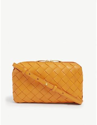 Bottega Veneta Nodini intrecciato mini leather cross-body bag