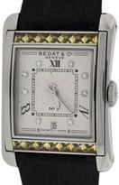 Bedat & Co Bedat No.7 Stainless Steel & Yellow Sapphires & Diamonds Womens Watch