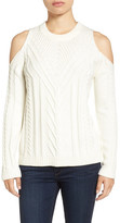 Vince Camuto Cold Shoulder Sweater