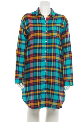 Sonoma Goods For Life Plus Size Flannel Sleepshirt