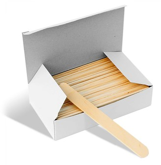 Mylee Disposable Waxing Wooden Spatulas - Pack Of 100