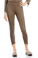 IC Collection Zipper Hem Detail Leggings