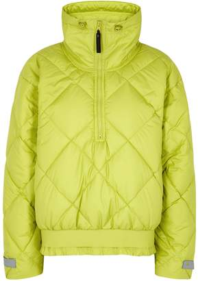 Stella McCartney Adidas X Adidas X Lime Quilted Shell Jacket