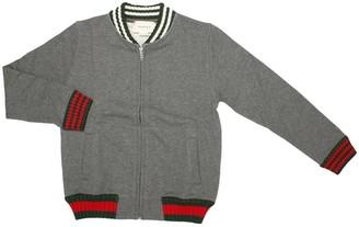 Gucci Kids Grey Bomber Jacket
