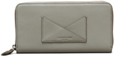 Kenneth Cole Leather Zip Around Wallet