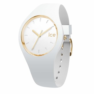 Ice Watch Ice-Watch - ICE glam White - Women's wristwatch with silicon strap - 000917 (Medium)