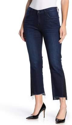 Flying Monkey Laguna Mid Rise Contrast Side Crop Jean