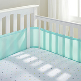 BreathableBaby 4 Sided Cot Liner - Aqua Mist