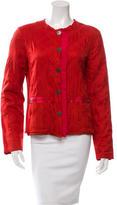 Lanvin Quilted Lightweight Jacket
