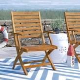 Beachcrest Home Rothstein Folding Patio Dining Chair