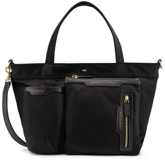 Anya Hindmarch Mini Multi-Pocket Nylon Tote Bag
