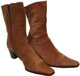 Non Signã© / Unsigned Non SignA / Unsigned Camel Suede Boots