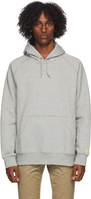 Carhartt Work In Progress Grey Chase Hoodie