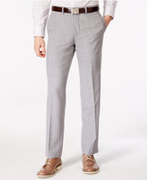 Bar III Men's Light Grey Slim Fit Pants, Only at Macy's