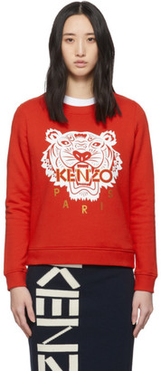 Kenzo Red Limited Edition Chinese New Year Classic Tiger Sweatshirt
