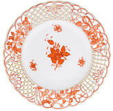 Herend Chinese Bouquet Openwork Plate