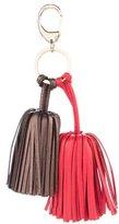 Loewe Leather Fringe Keychain