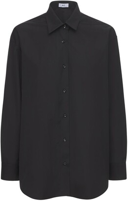 Oversize Cotton Poplin Shirt