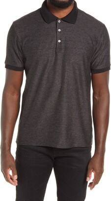 Theory Micro Grid Short Sleeve Polo