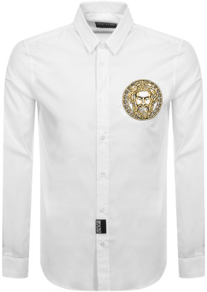 Versace Long Sleeved Shirt White