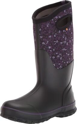 Bogs Womens Classic Tall Waterproof Insulated Rain Boot