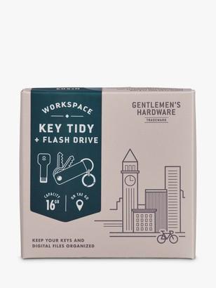 Gentlemen'sHardware Gentlemen's Hardware Flash Drive Key Tidy with USB