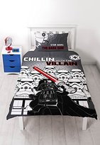 Lego Star Wars 'Villains' Single Duvet Set - Large Print Design