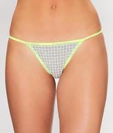 Calvin Klein ID Cotton Thong Panty - Women's