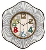 Infinity Instruments Lace Decorative Clock - Copper