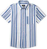 A.p.c. - Bryan Striped Cotton Shirt
