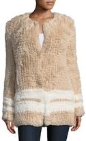 Adeline Faux Fur Long Coat