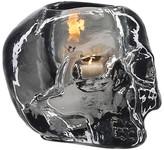 Kosta Boda Still Life Skull Votive - Grey