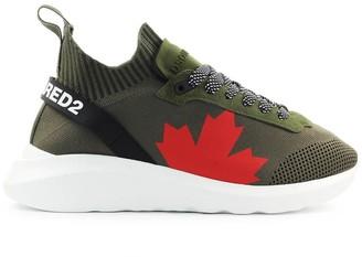 DSQUARED2 Speedster Military Green Sneaker