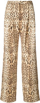 ADAM by Adam Lippes ocelot print trousers