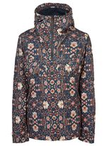 Pretty Green Floral Print Overhead Jacket