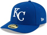New Era Men's Royal Kansas City Royals Cooperstown Collection Turn Back the Clock Throwback Low Profile 59FIFTY Fitted Hat