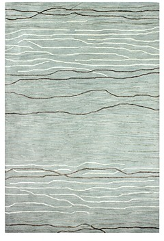 Kenneth Mink Waves Area Rug, 5'6 x 8'6