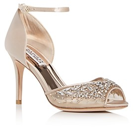 Badgley Mischka Women's Opera Embellished High-Heel Sandals