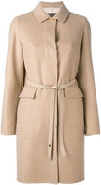 Loro Piana Winter Landford coat - women - Lamb Skin/Polyester/Cashmere/Goat Suede - 40