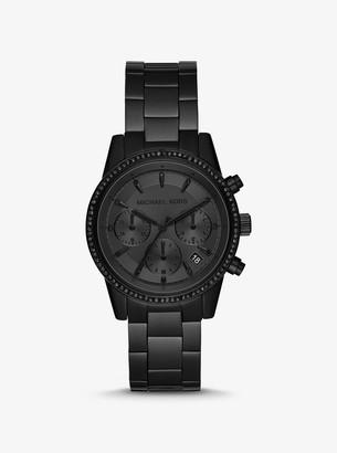 Michael Kors Ritz Black-Tone Watch