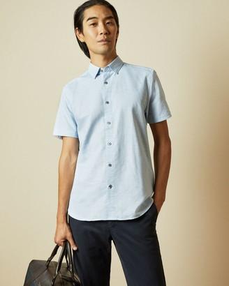 Ted Baker Ss Linen Shirt