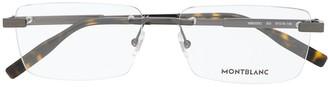 Montblanc Rimless Eyeglasses