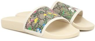 Gucci GG Flora slides