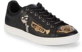 Dolce & Gabbana Leather Low-Top Sneakers