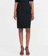 Lauren Ralph Lauren Ponte Faux-Leather Trim Pencil Skirt