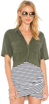 Obey St. Marina Button Down in Green. - size M (also in S,XS)