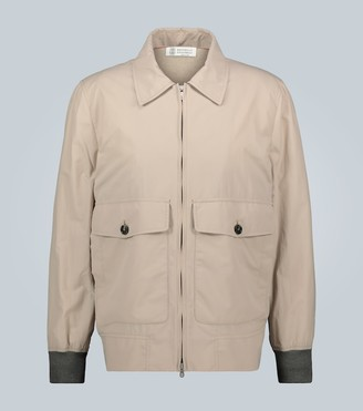 Brunello Cucinelli Lightweight zipped jacket