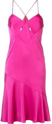 Galvan flared skirt dress
