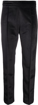 Hebe Studio Textured Style Cropped Trousers