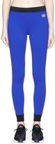 Monreal London 'Athlete' stripe colourblock performance leggings